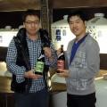 佐賀県で天山・七田ブランドを展開する天山酒造を見学