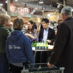 Sake promotion with sales representatives in the USA