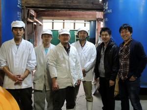 Visiting Yoshida Shuzo, Gassan, in Shimane