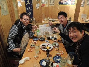 Visiting Tenzan Shuzo, known as Shichida, in Saga